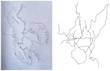 Drawn vs. Mapped