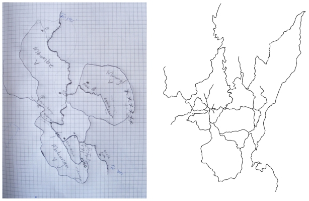 Drawn vs. Mapped